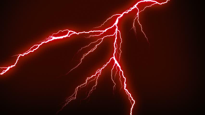 Red Lightning Effect Online Image Arcade