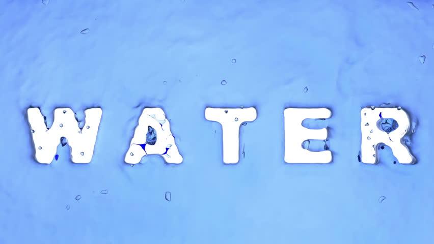 Water logo by liquid | Shutterstock HD Video #10194269