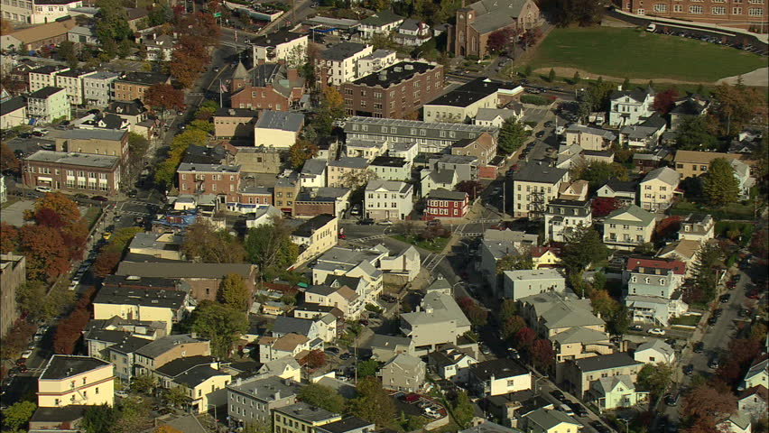 Westchester (IL) United States  city pictures gallery : Morning Fog Aerial, Westchester County, New York Stock Footage Video ...