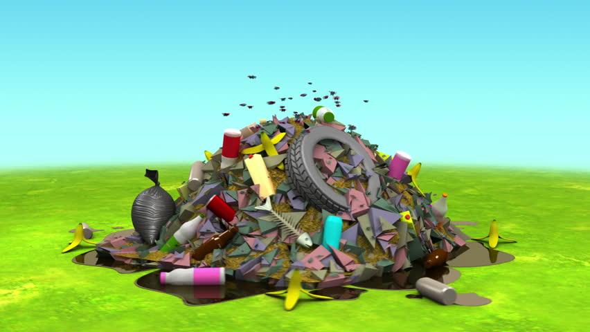 Cartoon Garbage Dump