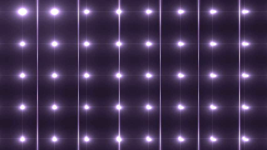 Bright beautiful violet disco background. Flood lights silver with glitter stars on black background. UHD 4k 4096.  Seamless loop. More videos in my portfolio. | Shutterstock HD Video #10527143