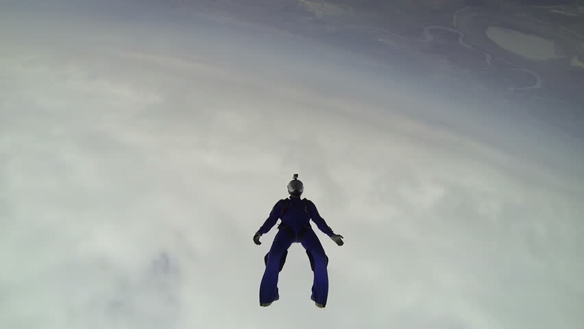 Skydiving video. | Shutterstock HD Video #10570289