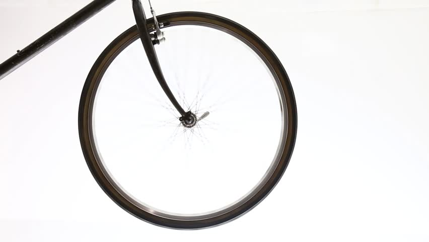 Bicycle wheel isolated with transmission gears