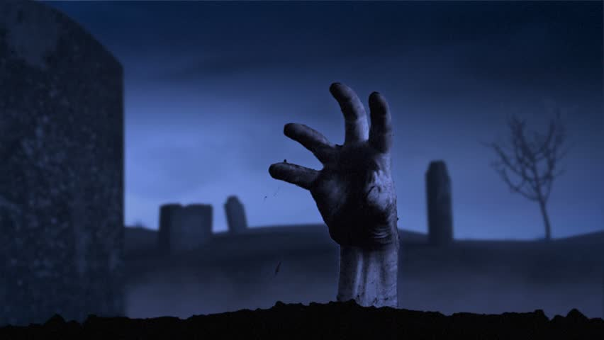 Rise of the Dead/One Hand. | Shutterstock HD Video #10765166