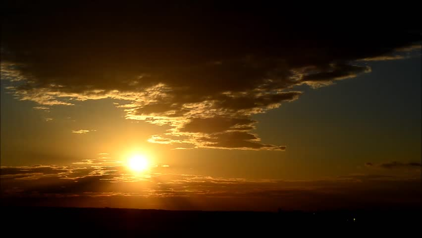 Perfect Time Lapse Dawn, High Altitude HDR, Flawless. #10791365