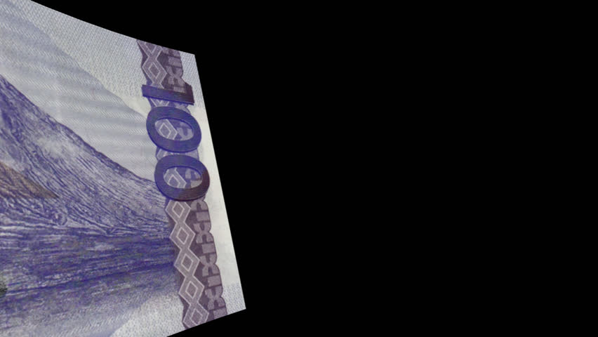 Philippines banknote Wiper- Video Effect simulates Philippines Money banknote Transition from left to right with alpha channel