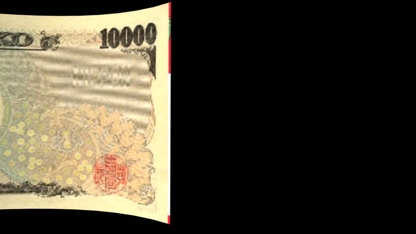 Japan Yen banknote Transition-