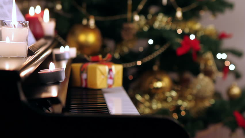 christmas piano wallpaper - photo #20