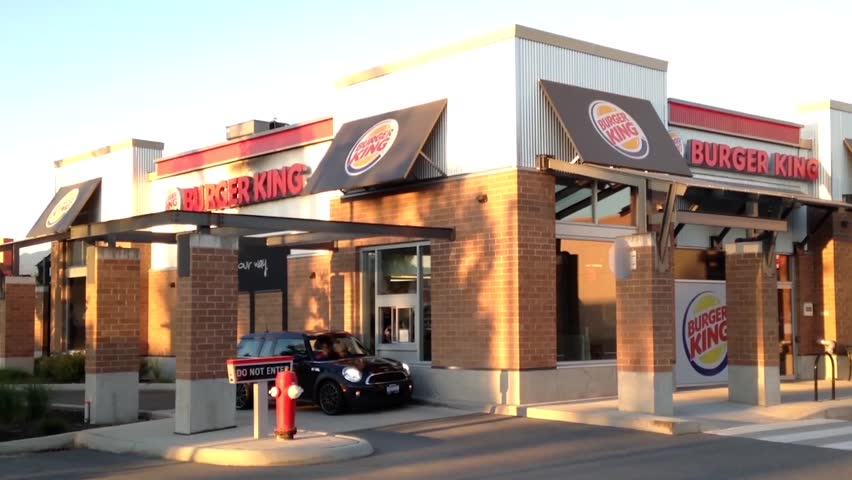 Hamburger Fast Food Restaurant Chains