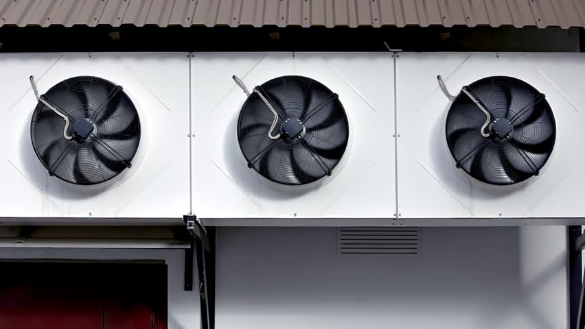 Construction Ventilation Fans : Ventilation fans three of flow exhaust