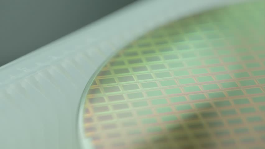 Stock Semiconductor Testing : Semiconductor footage stock clips
