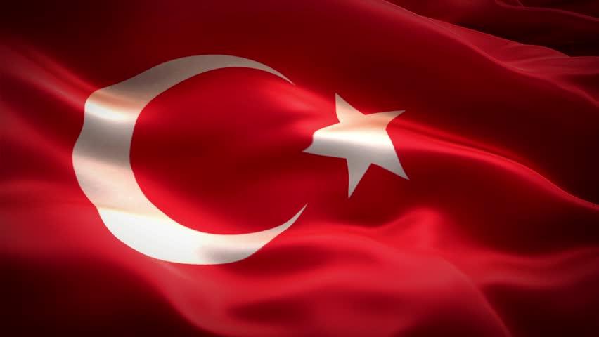 Turkey Flag Stock Footage Video - Shutterstock