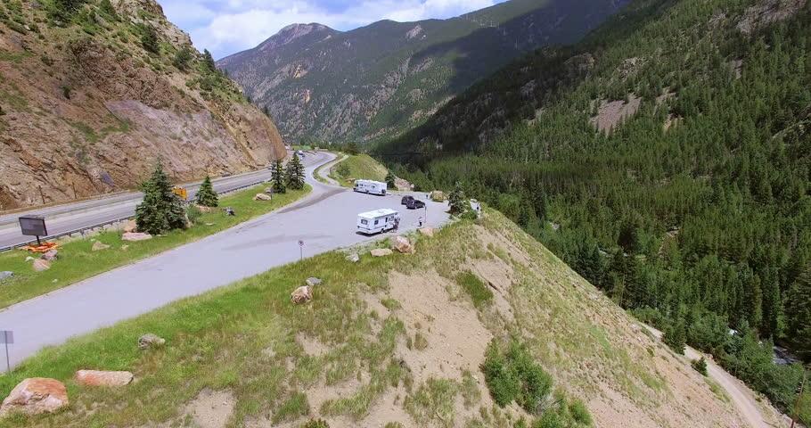 Georgetown, Colorado, USA-July 04, 2015. Abandoned mine on Colorado River near Georgetown, Colorado. | Shutterstock HD Video #11454251