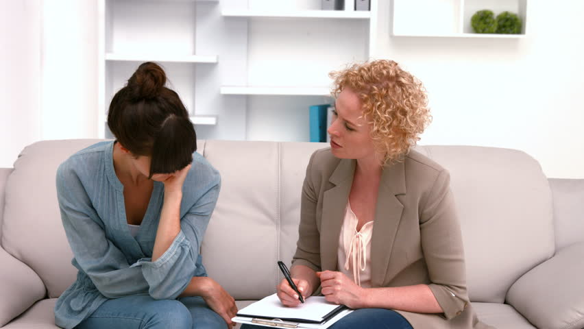 female psychiatrist and patient relationship