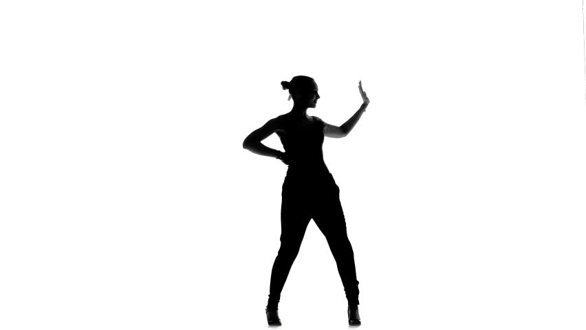 Singer Silhouette Stock Footage Video 3065557 Shutterstock