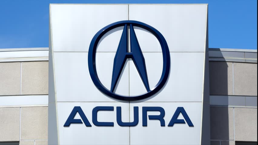 los angeles ca usa july 11 2015 acura automobile dealership sign and logo acura is the. Black Bedroom Furniture Sets. Home Design Ideas