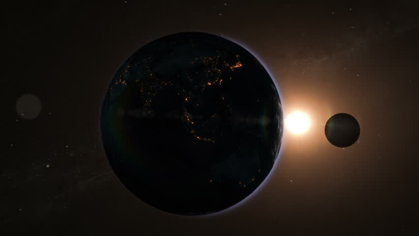 Journey through the Solar System passing by Saturn, Jupiter, Asteroids Belt and Mars ending on Earth. Images courtesy of: http://www.nasa.gov.