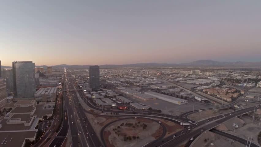 Aerial video in Las Vegas, Nevada. | Shutterstock HD Video #11871752