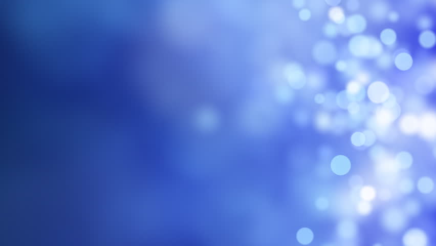 loopable abstract background blue bokeh circles - HD stock video clip