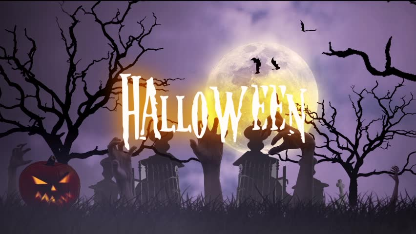 Halloween animation | Shutterstock HD Video #11957135