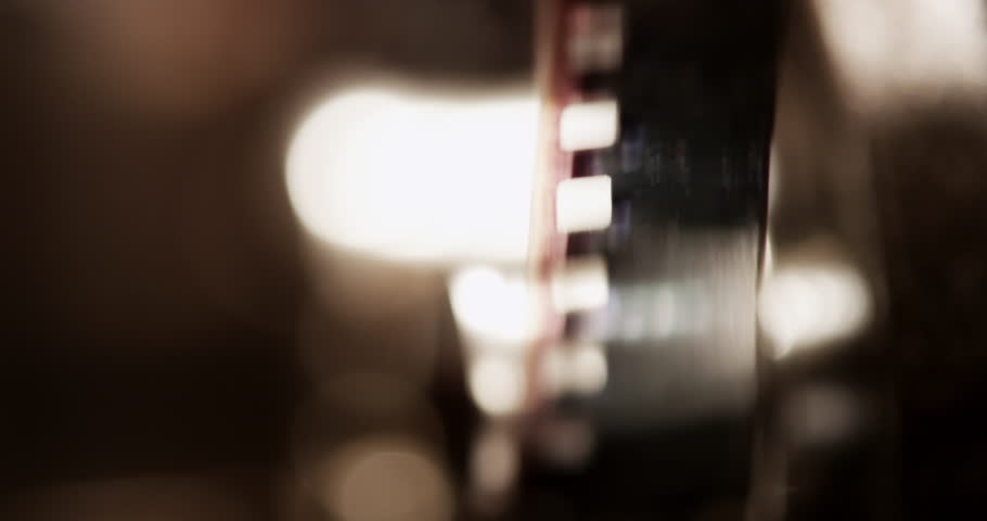 4K loop, film strip close up. Vintage, shot with RED EPIC in 4K DCI Native Resolution UHD.