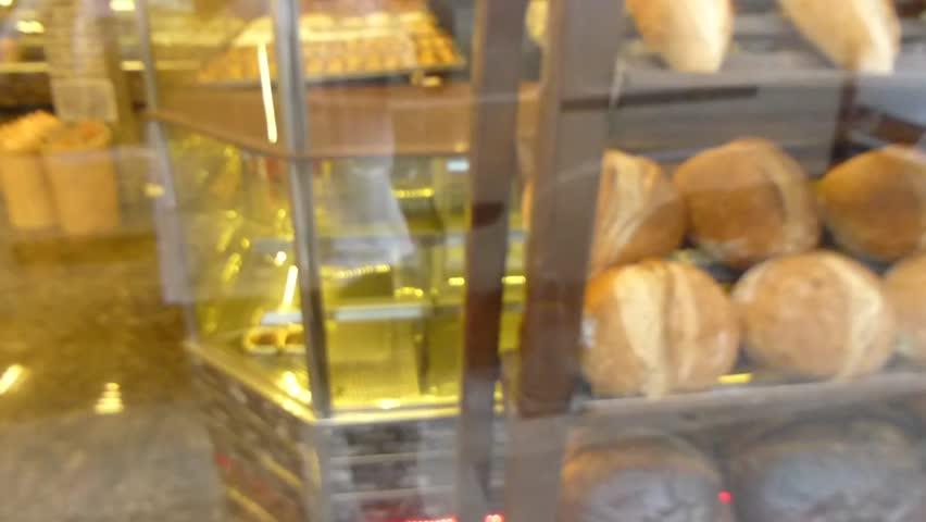 Bakery window. | Shutterstock HD Video #12029054