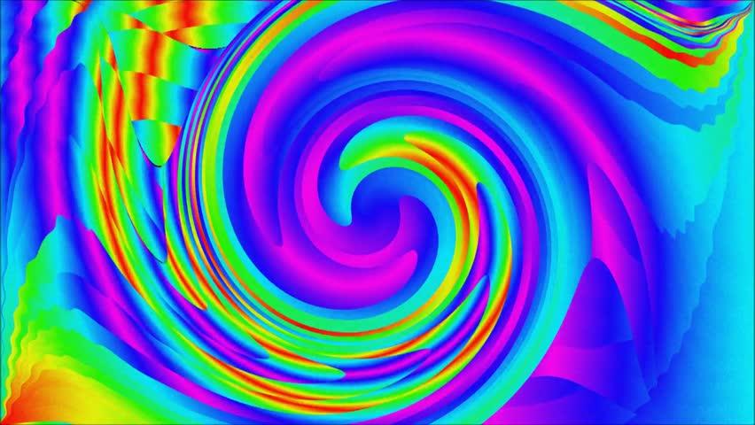 Backgrounds Hd Tie Dye Colorful Vortex Swirls Wallpaper: Creative Colorful Swirl Background. Modern Animation Stock