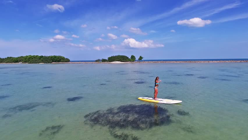 how to stand up paddle board video