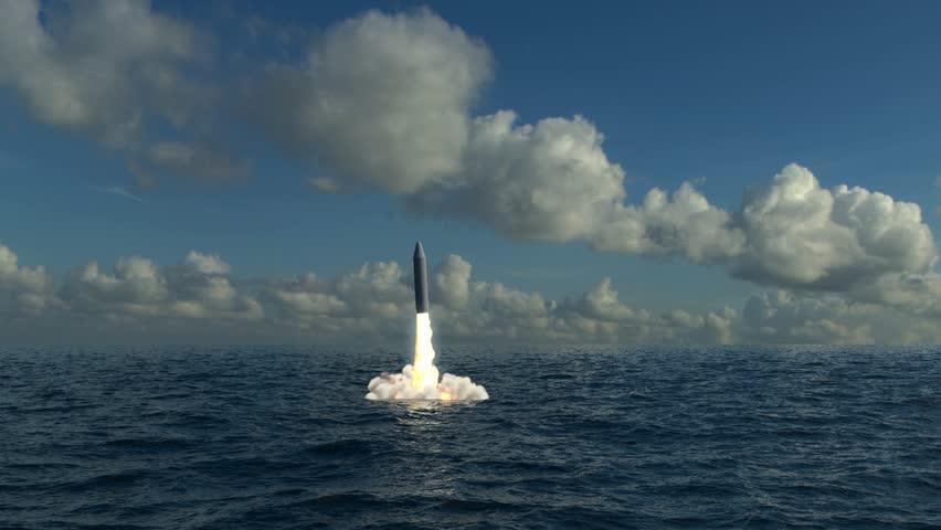 Underwater Missile Launch