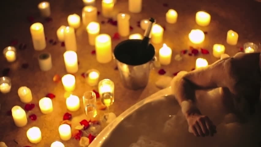 Bubble Bath Footage Stock Clips