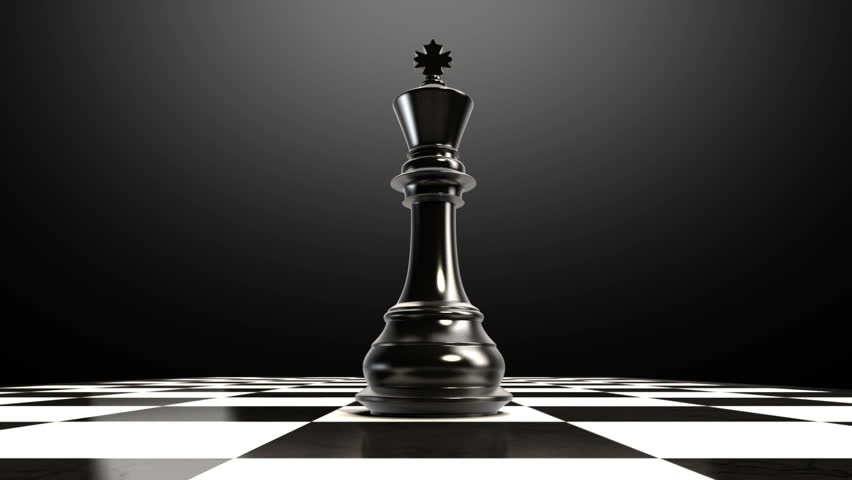 Put The King On A Chessboard, And Chess Piece Fall Down