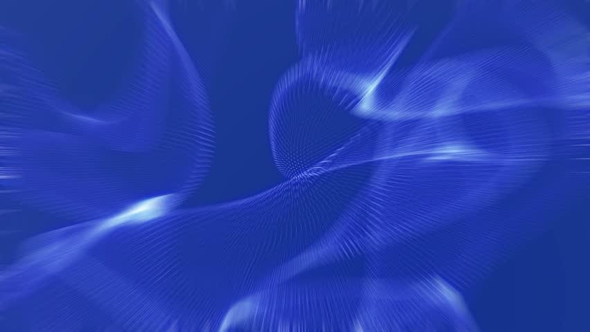 Deep blue abstract motion background | Shutterstock HD Video #12473375