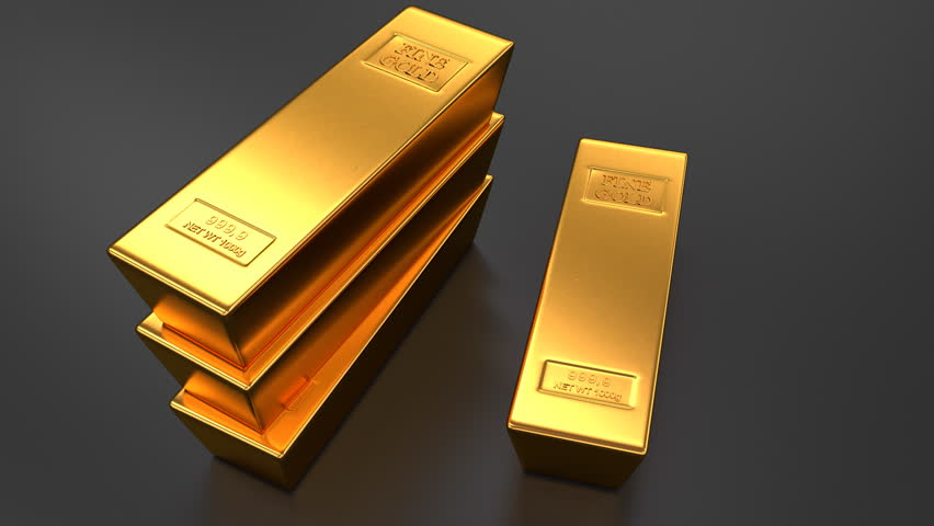 gold bar black background - photo #13