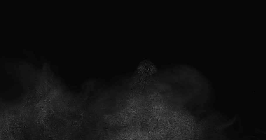 Rough atmospheric effect filling bottom of screen shot in studio   Shutterstock HD Video #12801929