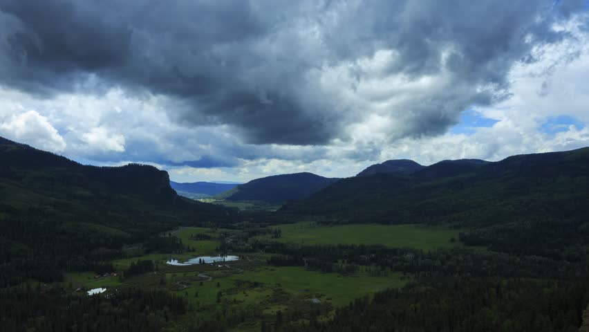 Cloud Timelapse at San Juan National Forest, Colorado