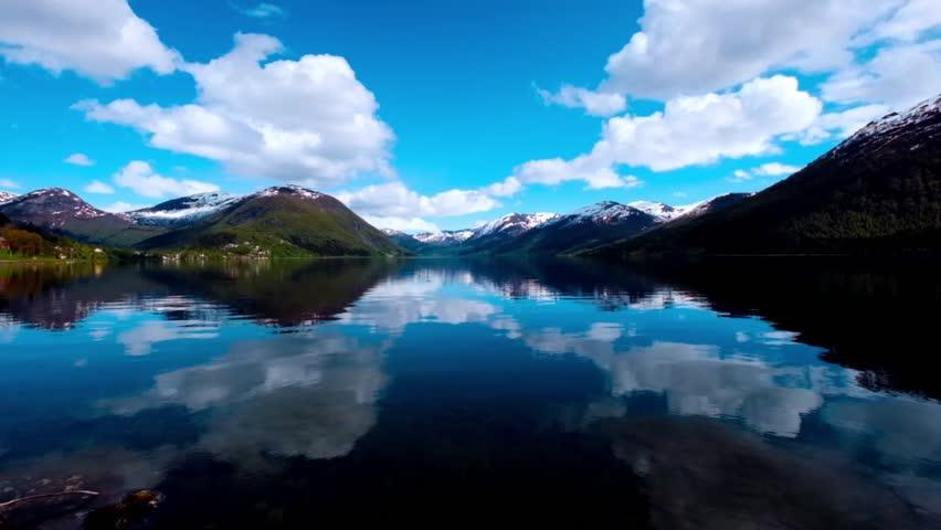 Beautiful Nature Norway.   Shutterstock HD Video #12862751