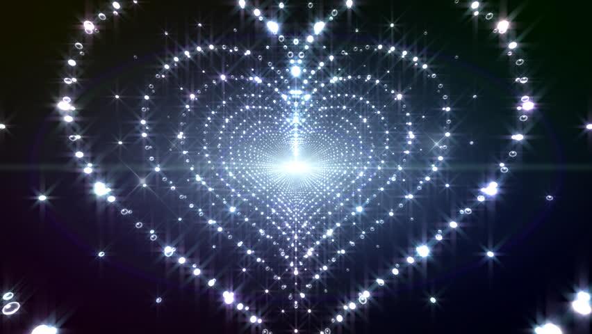 LED Light Heart
