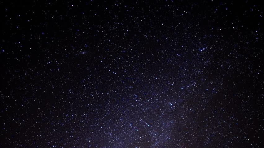 Milky Way Galaxy Time Lapse 03 Mojave Desert California ...
