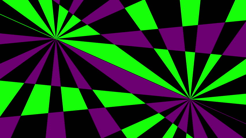 retro pinwheels psychedelic hypnotic vj background loop 12 green purple aggressive and. Black Bedroom Furniture Sets. Home Design Ideas