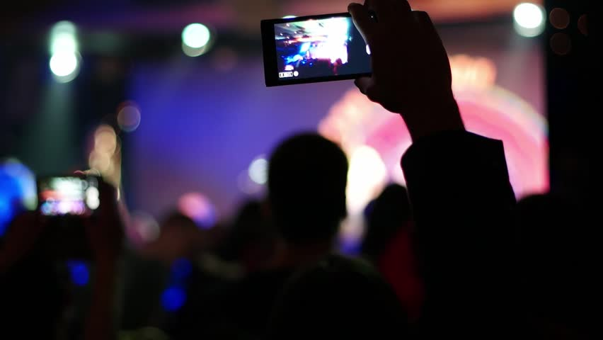 Image result for phone video at event