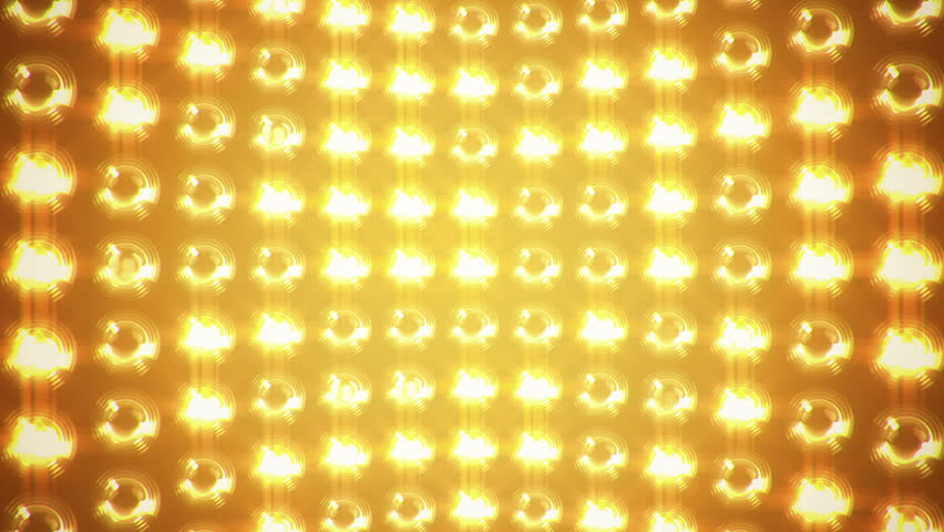 Abstract background with wall from lamps of bright light. Glowing and bright light. Projector of light rays. Animation of seamless loop. | Shutterstock HD Video #13088723
