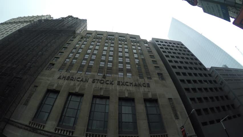 Header of American Stock Exchange