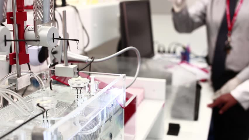 Science Apparatus - HD stock video clip