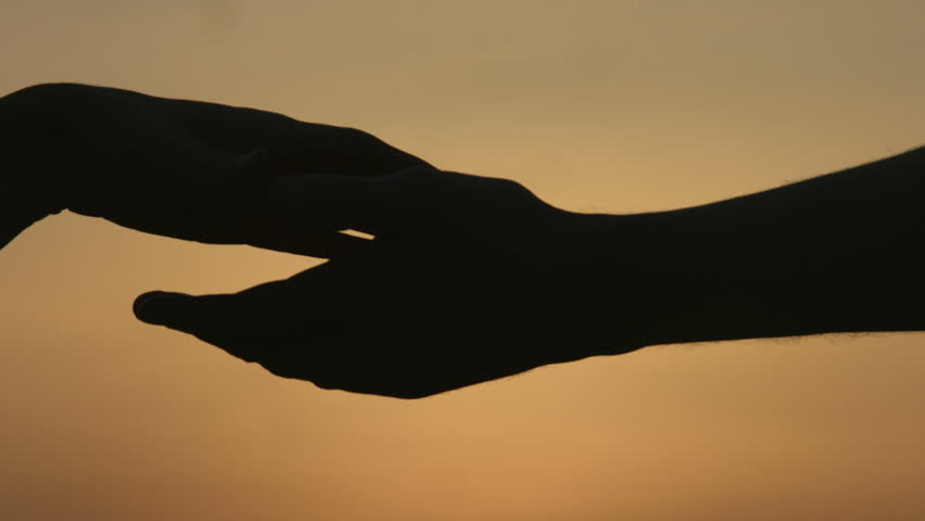 Come Here Hand Gesture - Orange Stock Footage Video 591430 ...