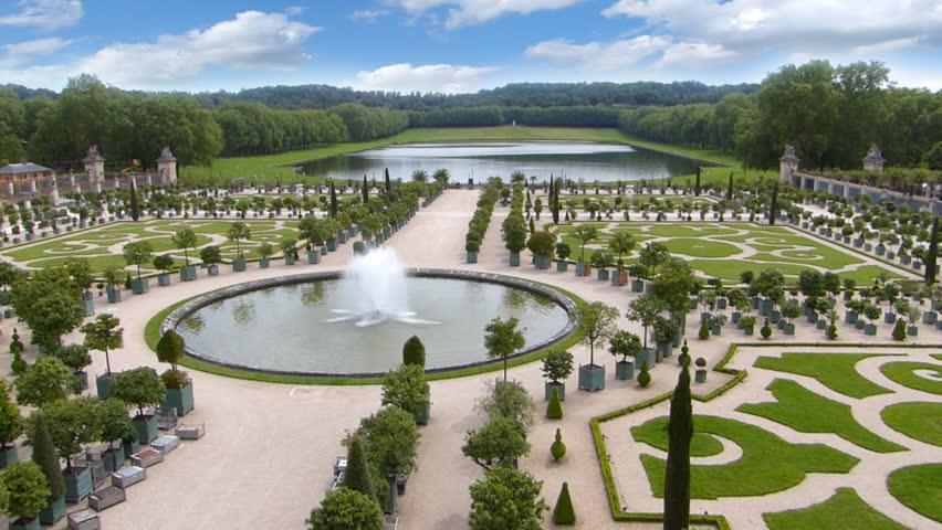 Versailles Garden, Fountain and Park in Paris France | Shutterstock HD Video #13220708