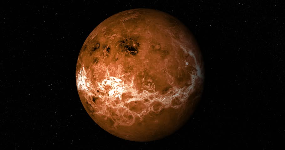 venus planet rotating moving animated - photo #19