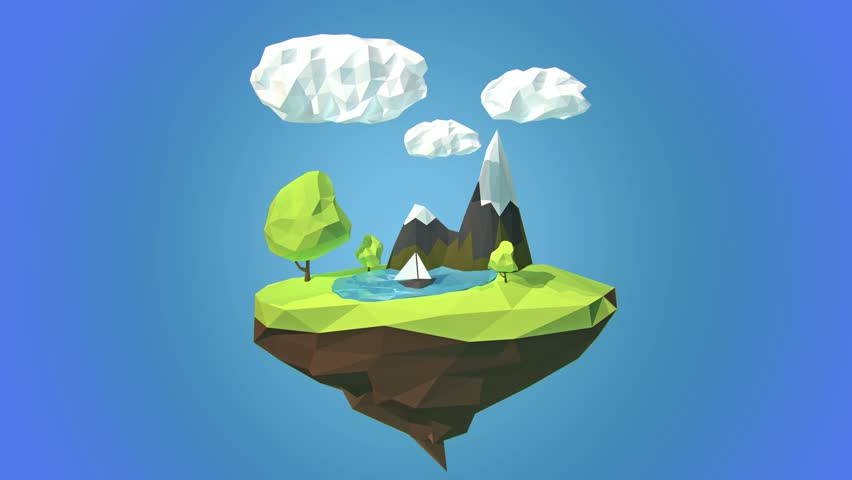 clouds hook floating islands - photo #9