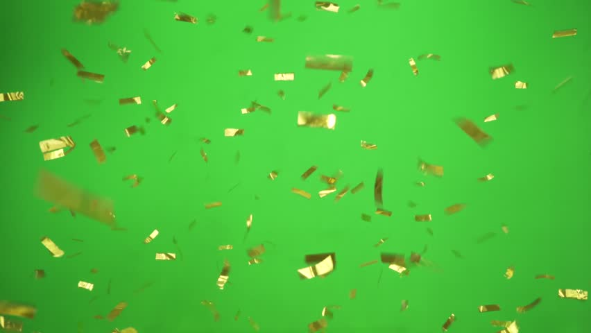 Gold Confetti falling slow and beautiful | Shutterstock HD Video #13320194