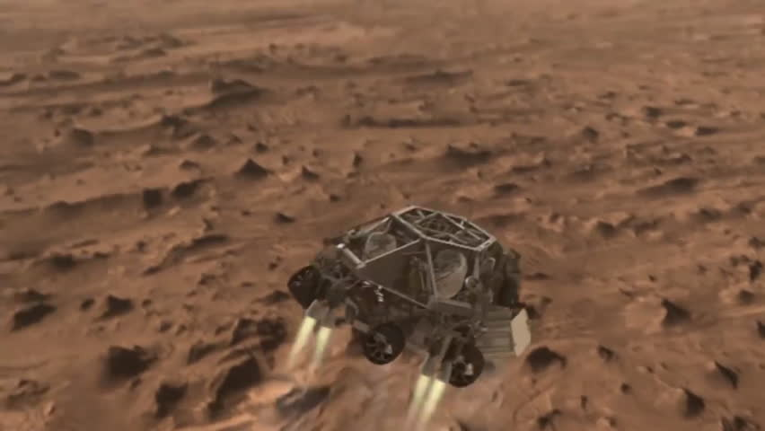 footage landing on mars - photo #10