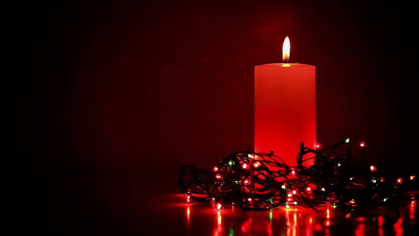 Black Candles With Copy Space Stock Footage Video 4771112 ...